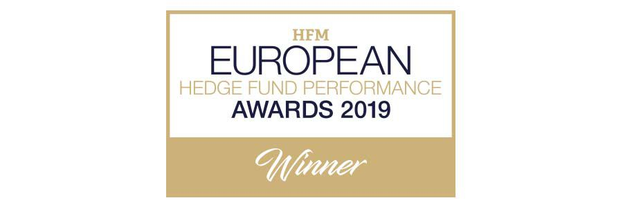 Logo di HFM European Hedge Fund Performance Awards 2019 Winner