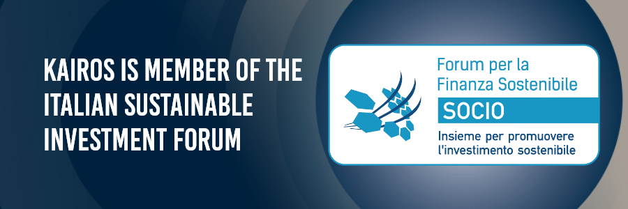 Kairos is member of the Italian Sustainable Investment Forum